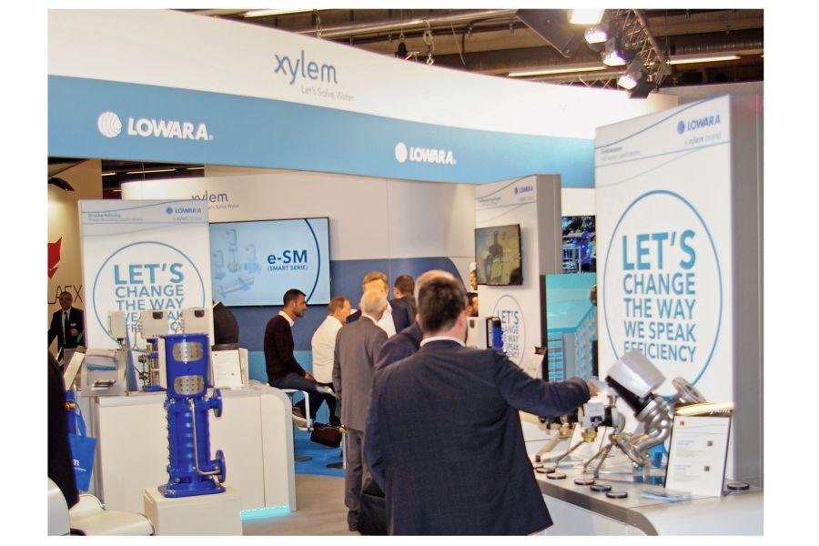 """Weltweit höchste Priorität hat für Xylem das Thema """"Energieeffizienz""""."""