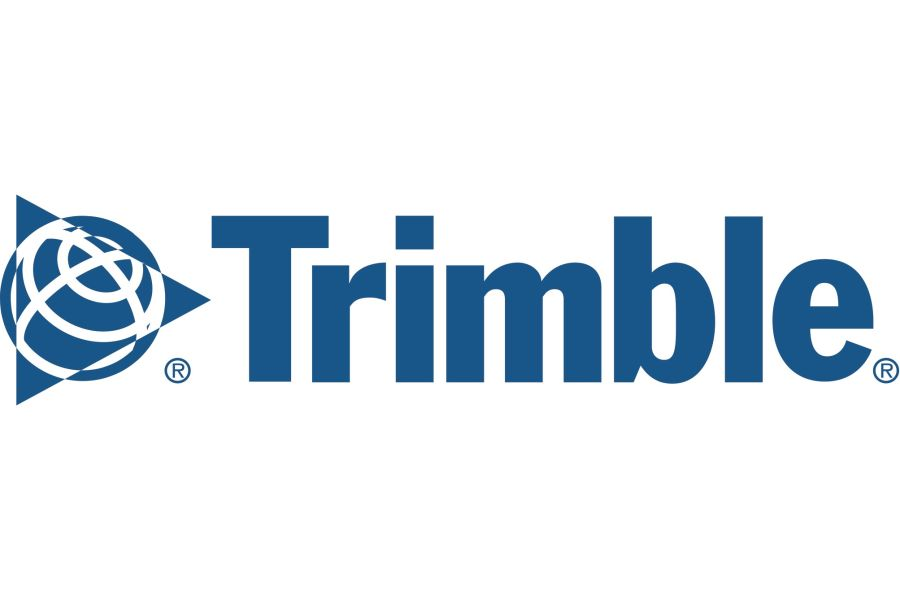 Das Trimble-Logo.