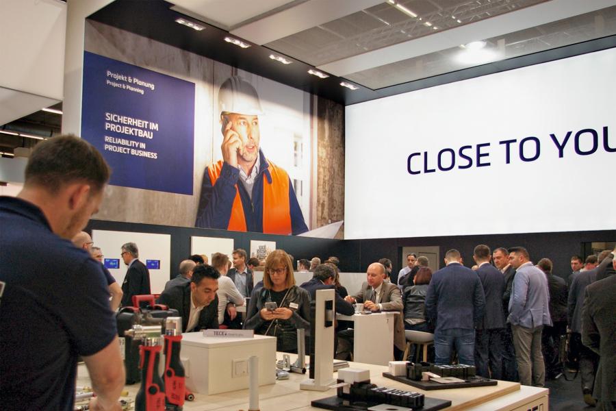 Close to you: Der Slogan war bei den Neuheiten rund um die Installationstechnik Programm – fast ausnahmslos waren die Innovationen ganz dicht an der Praxis des Handwerks ausgerichtet.