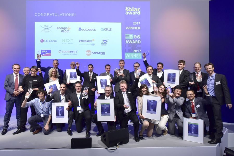 Die Gewinner des EES Awards 2017.
