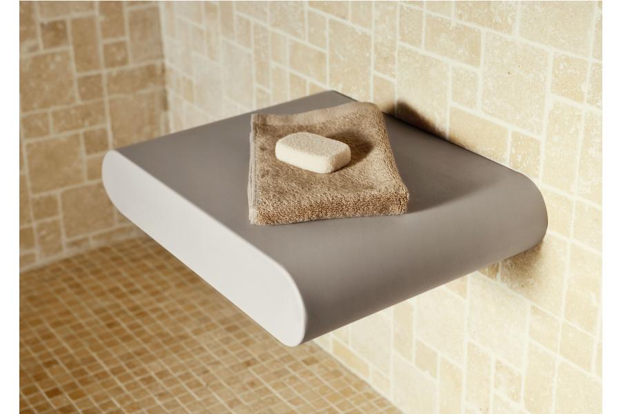 Der Keuco-Duschsitz.