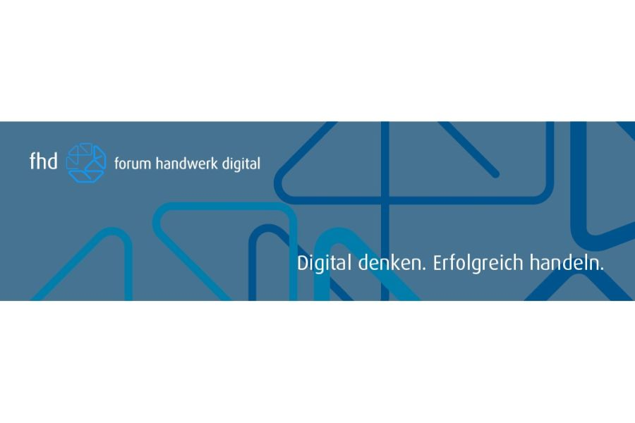 Banner des forum handwerk digital.