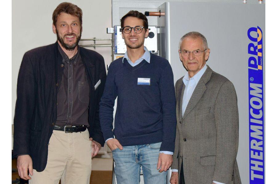 Stephan Eisenbeiß, Gerhard Kuhn und Sebastian Sperner.