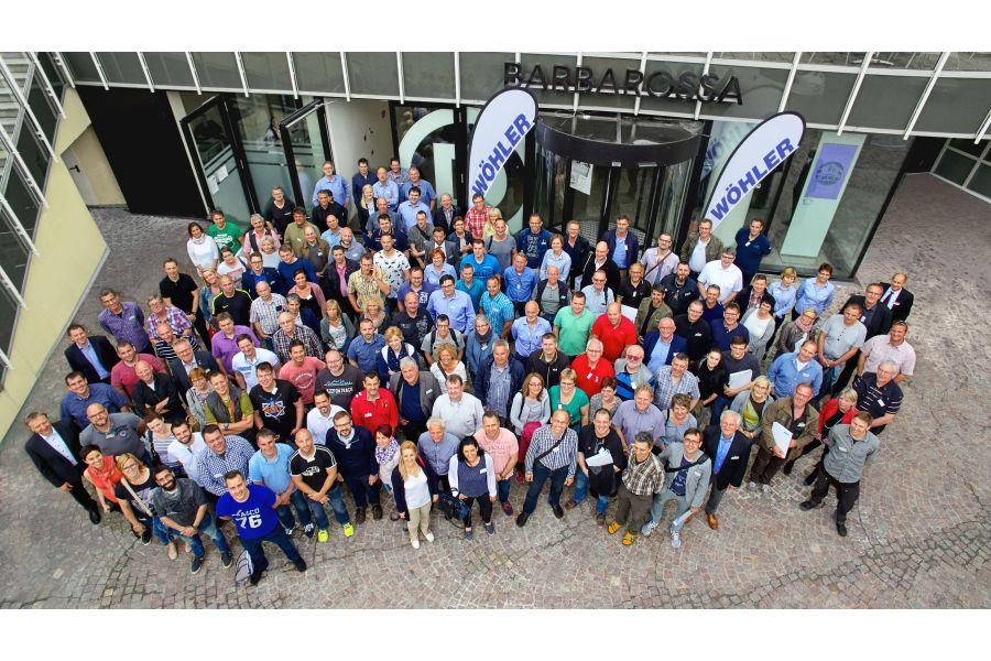 Gruppenfoto der Teilnehmer des Innovationsforums 2017.