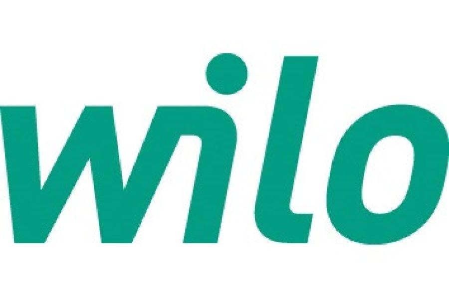Das Logo von Wilo.