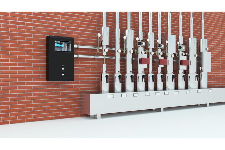 """Ein installiertes """"Heat Guard""""-System überprüft die Qualität des Heizungswassers."""