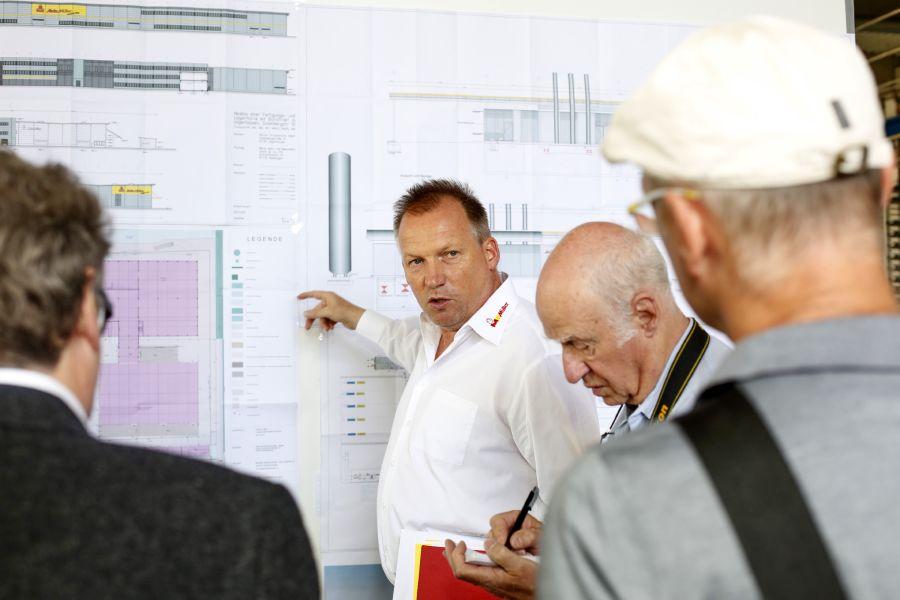 Andreas Müller bei der Vorstellung des Green Factory-Projekts.