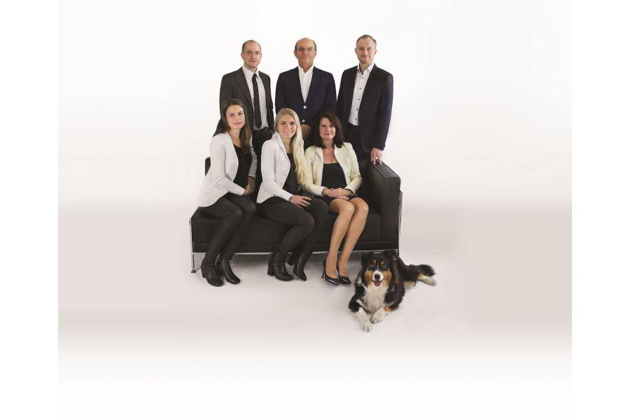 Familienbild der Familie Moser.