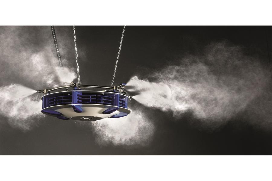 ein Luftbefeuchtungssystem von Merlin.