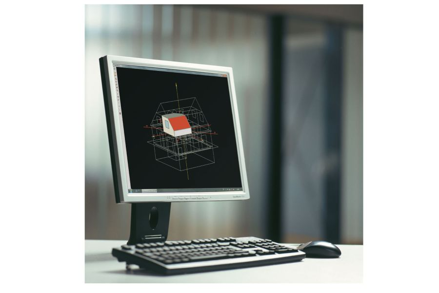 Die Software WUFI plus ermöglicht die integrale Betrachtung der Interaktion von Gebäudehülle und Innenraum.