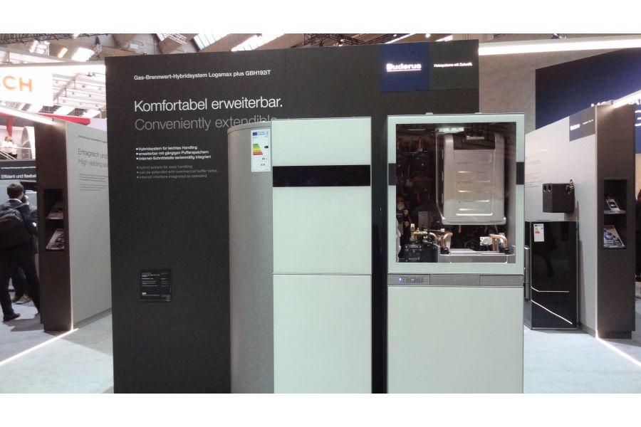 Das Gas-Brennwert-Hybridsystem Buderus-