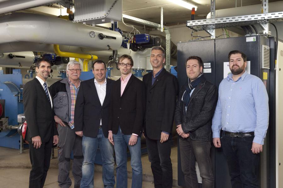 Das Projekt-Team der Rehaklinik Carolinum.