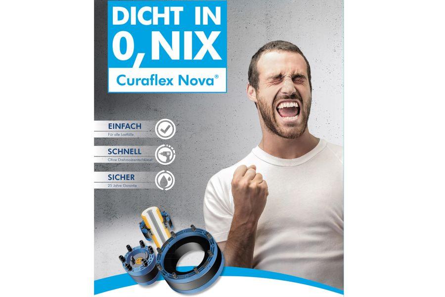 """Das Bild zeigt die """"Dicht in Null Komma Nix""""-Kampagne."""