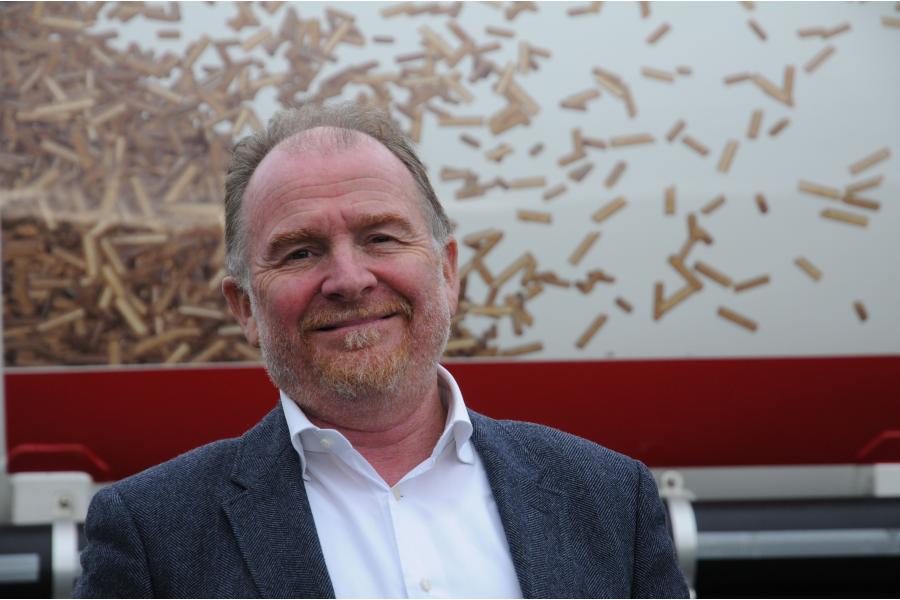 Martin Bentele, geschäftsführender Vorsitzender des Deutschen Energieholz- und Pellet-Verbands.