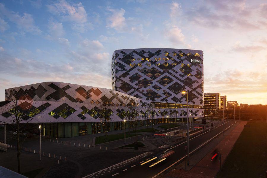 Das Hilton Airport Schiphol Hotel.