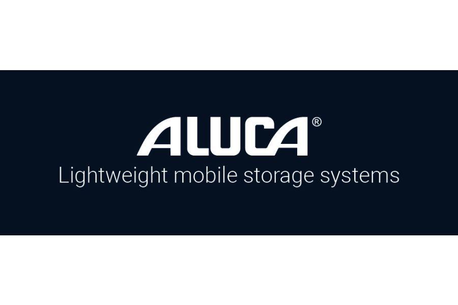 Das Logo von Aluca.