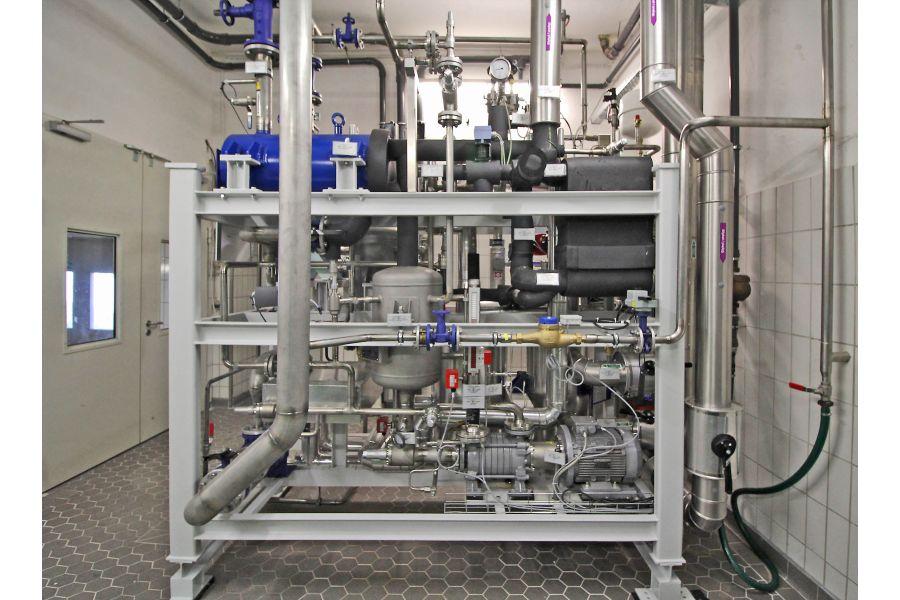 Die Absorptionskältemaschine der Brauerei Zötler.