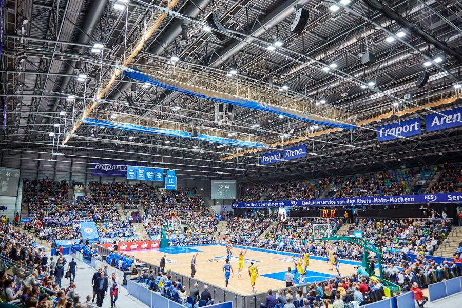 Die Frankfurter Fraport-Arena.