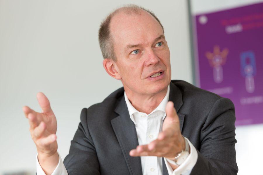 Dietrich Gemmel, Leiter Privatkundengeschäft Deutschland bei innogy.