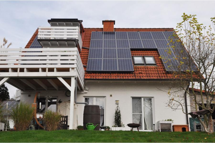 Zweifamilienhaus aus den 90er-Jahren.