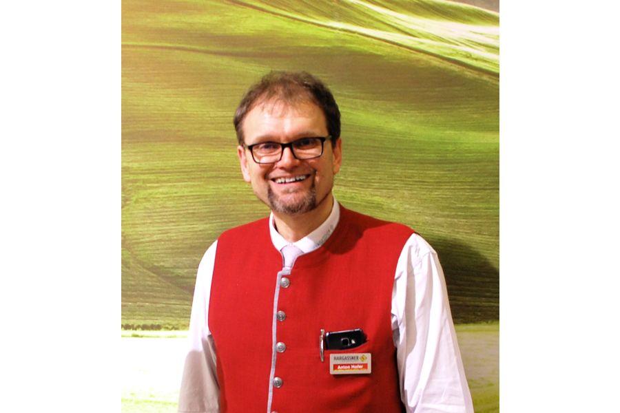 Anton Hofer, Produktmanager und Marketingleitung der Hargassner GmbH.