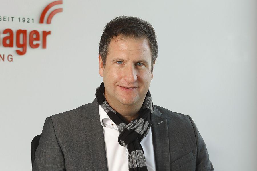 Frank Geißer, Verkaufsleiter der Windhager Zentralheizung GmbH Deutschland