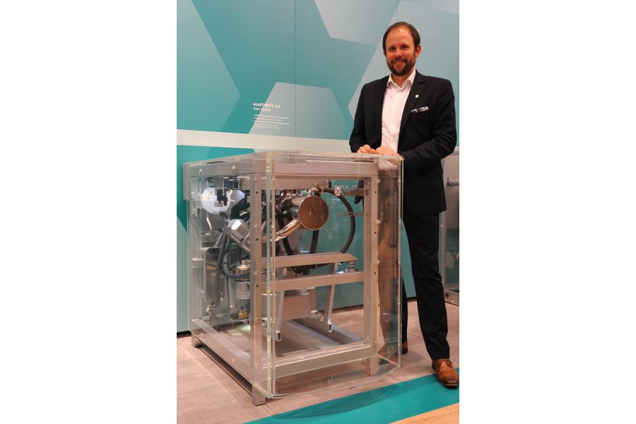 Tillmann von Schroeter und das Mini-KWK ecoPower 3.0.