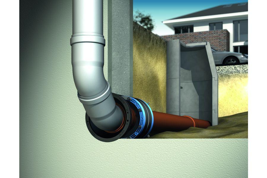 """Das Bild zeigt das """"Curaflex""""-Bauherrenpaket bei Gebäuden mit Keller."""