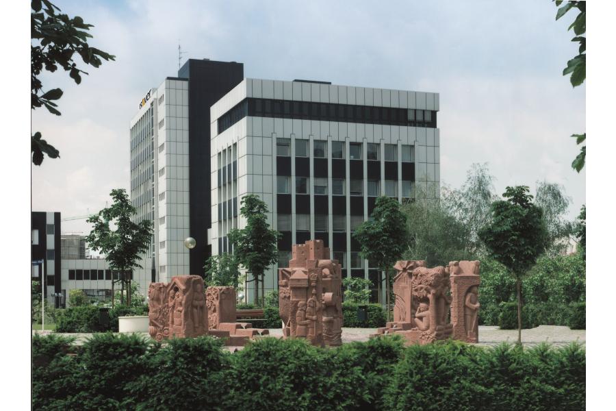 Der Firmensitz von Saint-Gobain Isover G+H in Ludwigshafen.