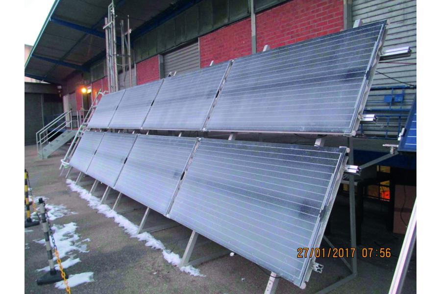 Vereiste Photovoltaik-Module.