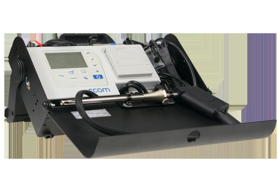 """Das O2/CO-Messgerät """"ecom-CL2"""" von ecom."""