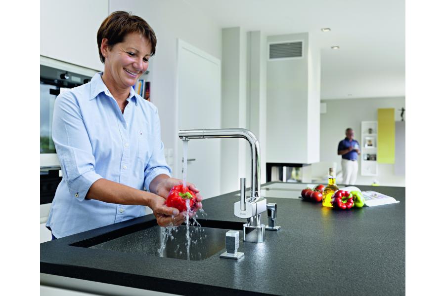 Die Armatur gehört zu den täglich am meisten beanspruchten Küchengeräten.