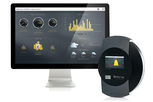 Dashboard und Datenlogger des