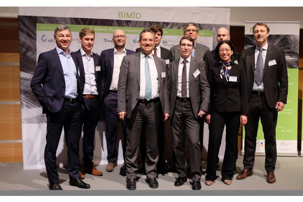 Abschluss des Förderprojektes BIMiD auf der BAU München