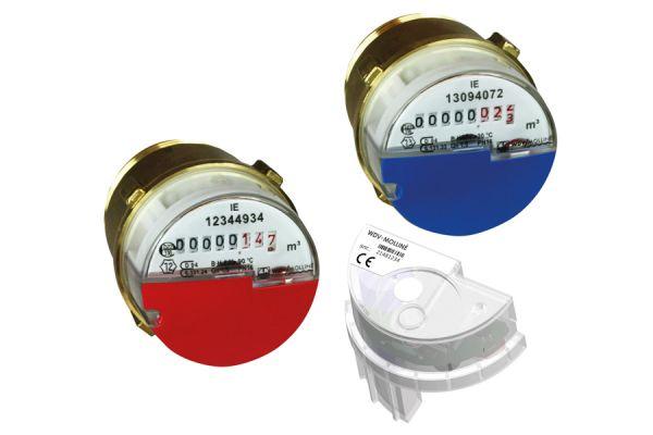 Messgeräte zur Erfassung des Verbrauchs von Kaltwasser, Warmwasser und Wärme
