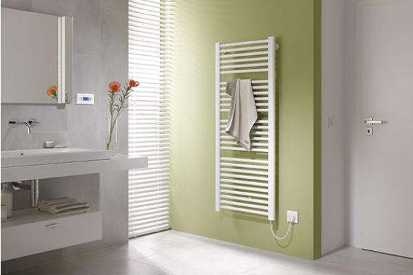 Badheizkörper für den rein elektrischen Betrieb