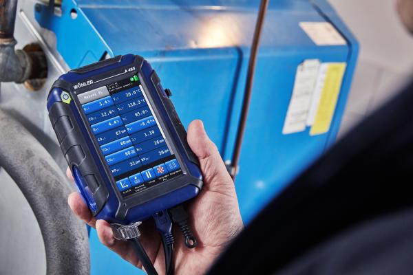 Wöhler präsentiert kompaktes Abgasmessgerät