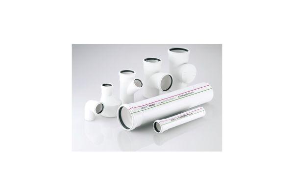 Kunststoff-Abwasserrohre