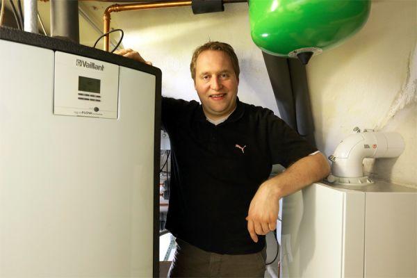 Neue Gasbrennwertheizungsanlage