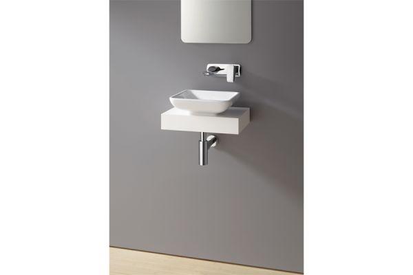 Handwaschbecken mit Wandarmatur