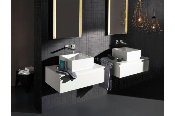 2-Loch-Wandarmatur für das Aufsatzwaschbecken