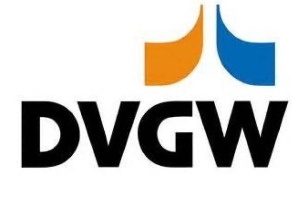 Das Logo des DVGW-Zertifikats.