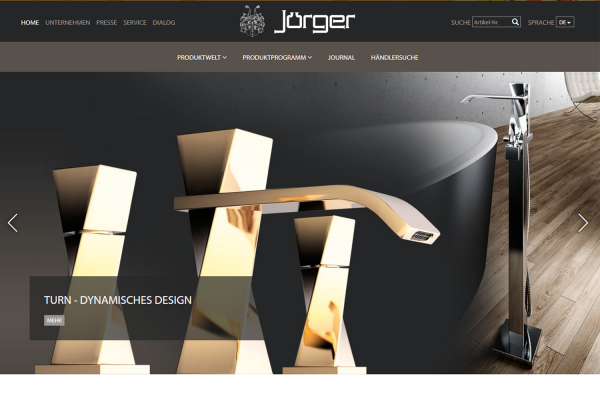 Jörger mit neuem Internetauftritt
