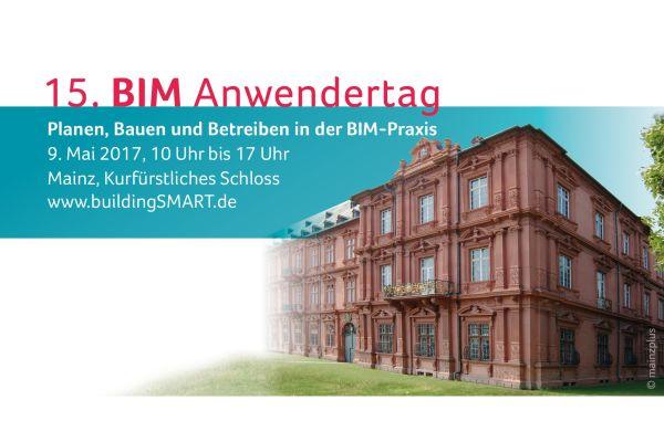 Banner des 15. BIM-Anwendertags.