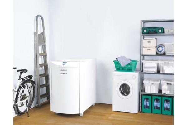 Mini-BHKW für Mehrfamilienhäuser und kleine Gewerbebetriebe