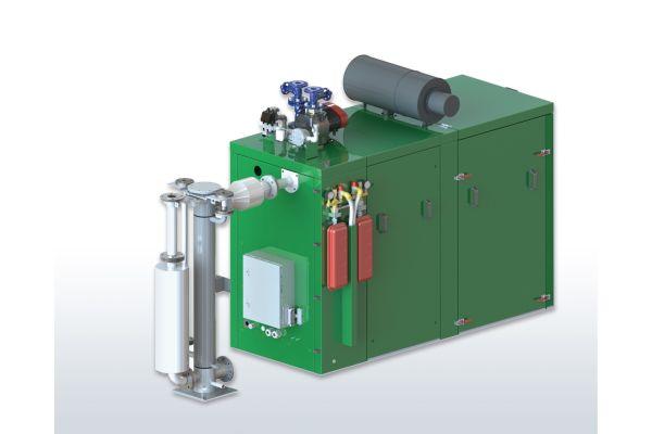 Produktfoto des Erdgas-Blockheizkraftwerks