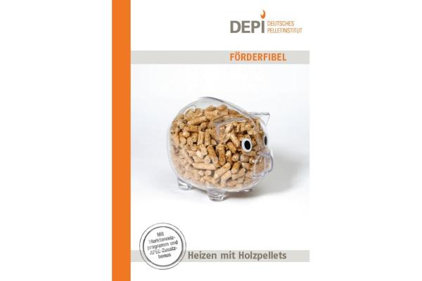Pelletfeuerungen: DEPI-Förderfibel hilft bei Förderung
