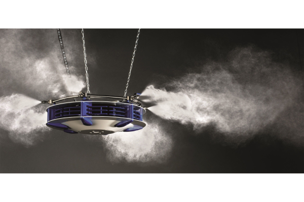 Ligna Hannover: Nächste Weltpremiere für Merlin Luftbefeuchtung
