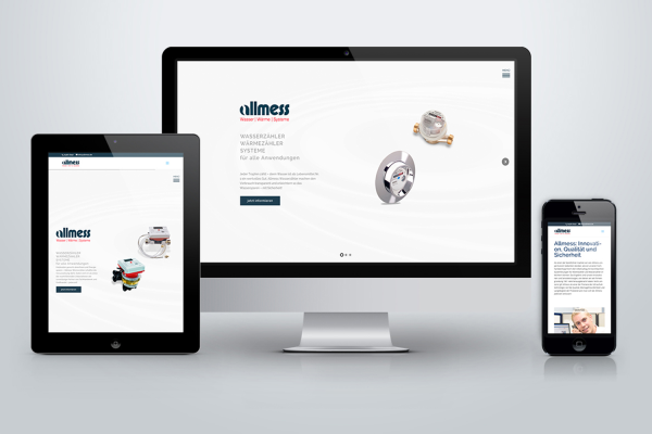 Relaunch der Allmess-Website