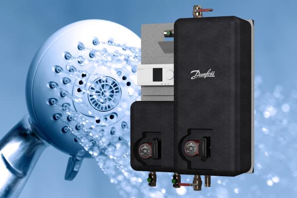 Kompakte Hygiene-Lösung von Danfoss